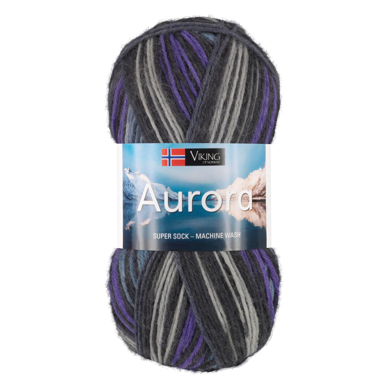 AURORA Sort/Lilla 667