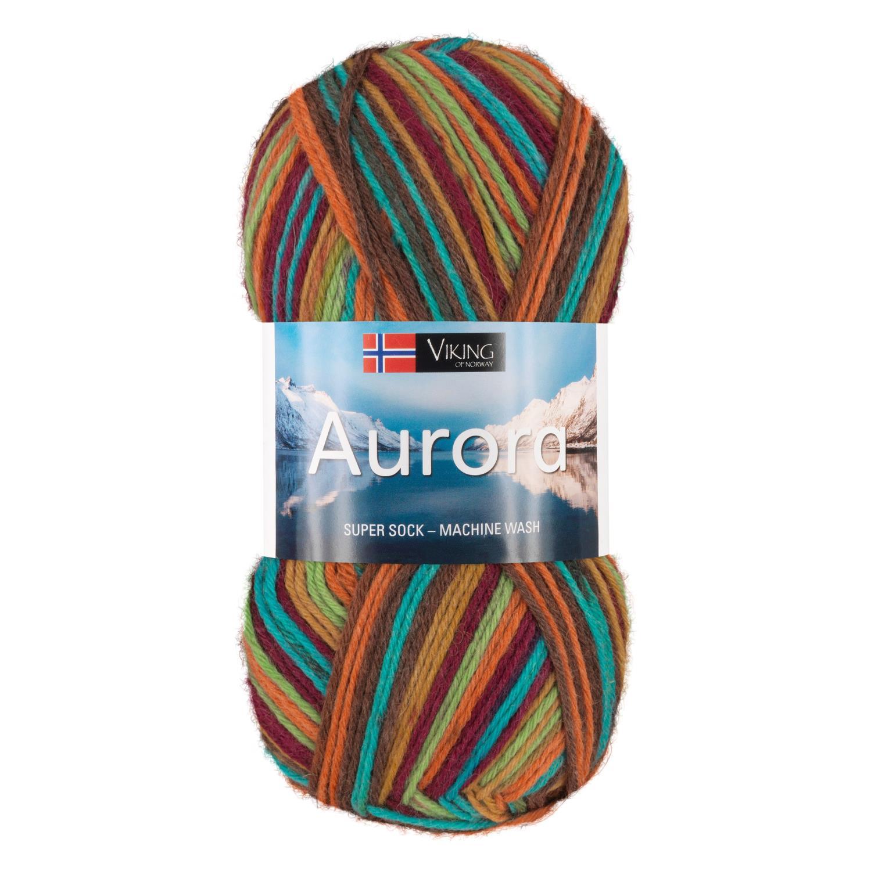 AURORA Mørk Fargerik 675