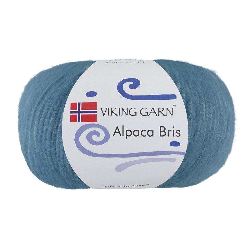ALPACA BRIS Lys Jeansblå 326