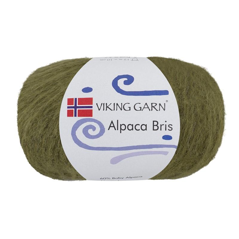 ALPACA BRIS Mosegrønn 335