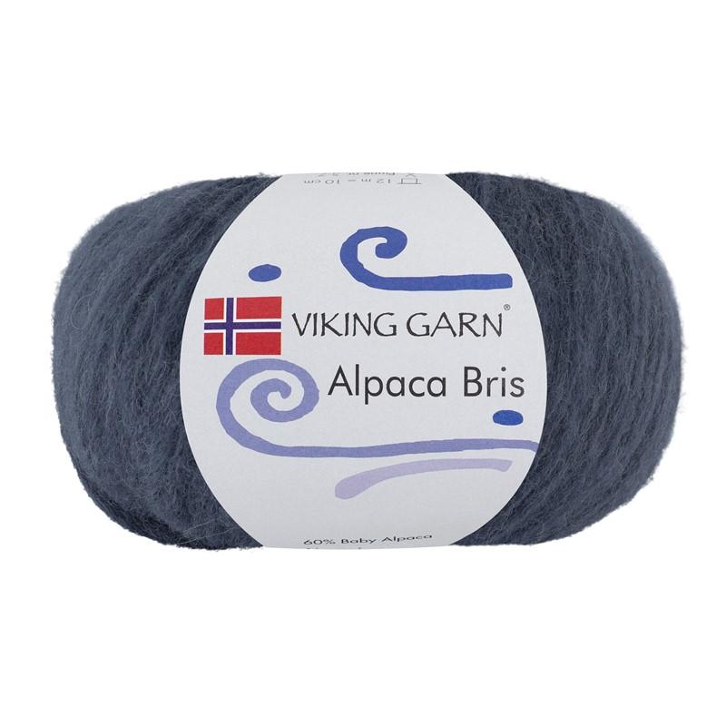 ALPACA BRIS Mørk Jeansblå 327