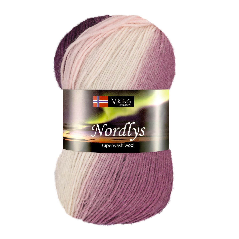 NORDLYS Lys Rosa/Plomme 968
