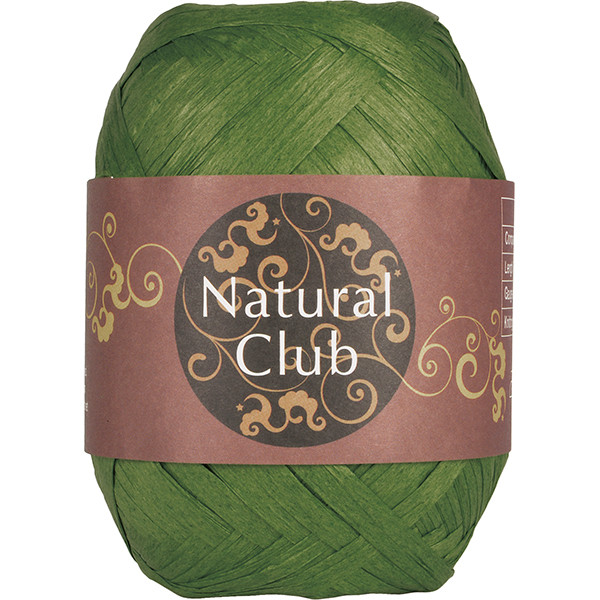 NATURAL CLUB RAFFIA Grønn #97