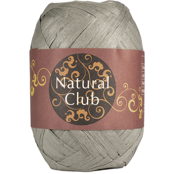 NATURAL CLUB RAFFIA Grå #48