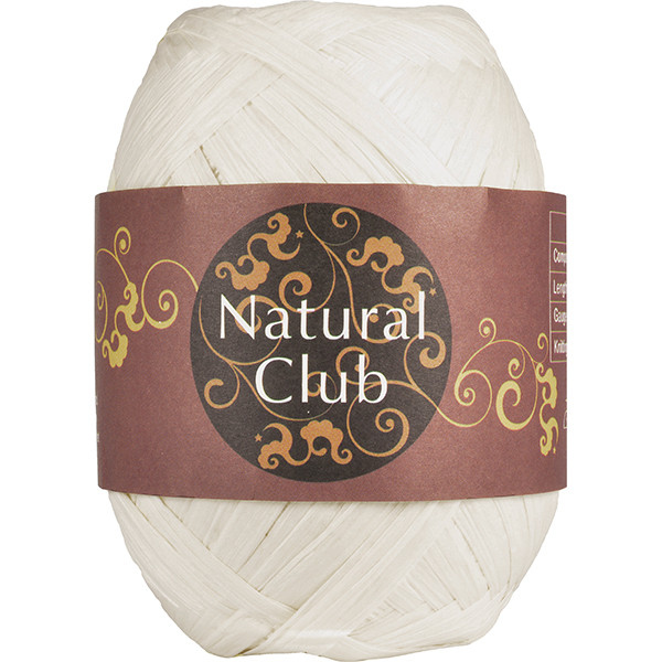 NATURAL CLUB RAFFIA Natur #47