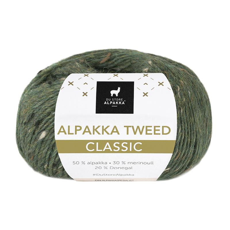 ALPAKKA TWEED CLASSIC Grønn 132