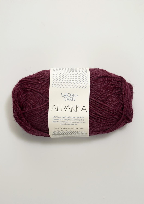 ALPAKKA Vinrød 4554