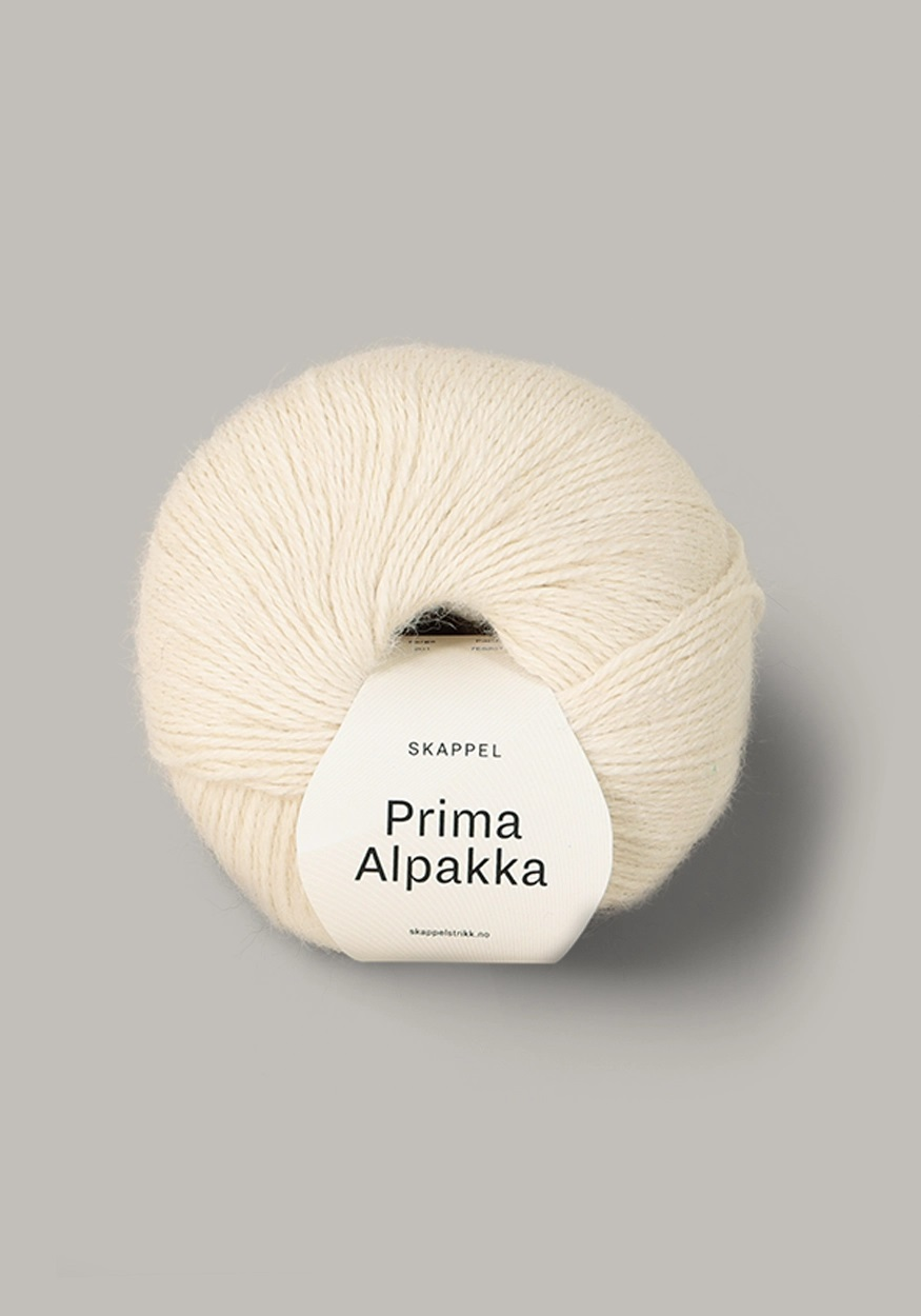 PRIMA ALPAKKA Naturmelert 201