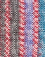 HOT SOCKS PEARL MULTI Rød/Grønn 08