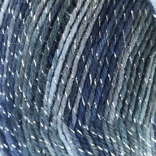 SALIDA GLITTER Mørk Blå 06