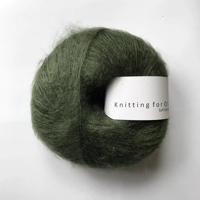 SOFT SILK MOHAIR Flaskegrøn