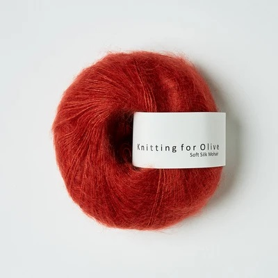 SOFT SILK MOHAIR Granateple