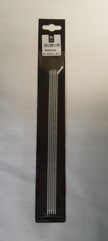 PT DESIGN STRØMPEPINNER 20cm 2,5mm