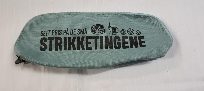 STRIKKEVESKE M Grønn 9773