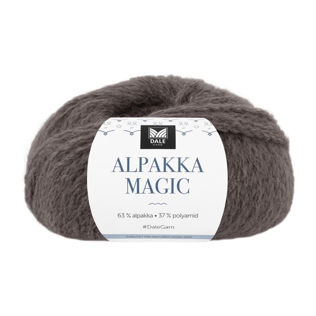 ALPAKKA MAGIC Gråbrun 335