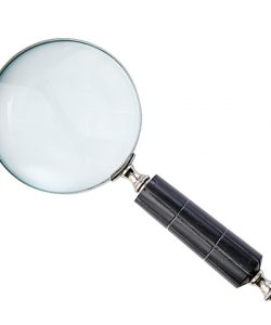 Affari Globetrotter Forstørrelseglass Sort