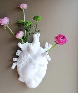 Seletti Love in Bloom Vase Hvit