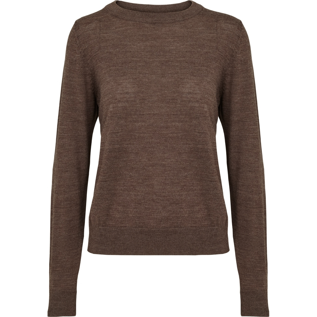 Basic Apparel Vera Sweater Brown mel