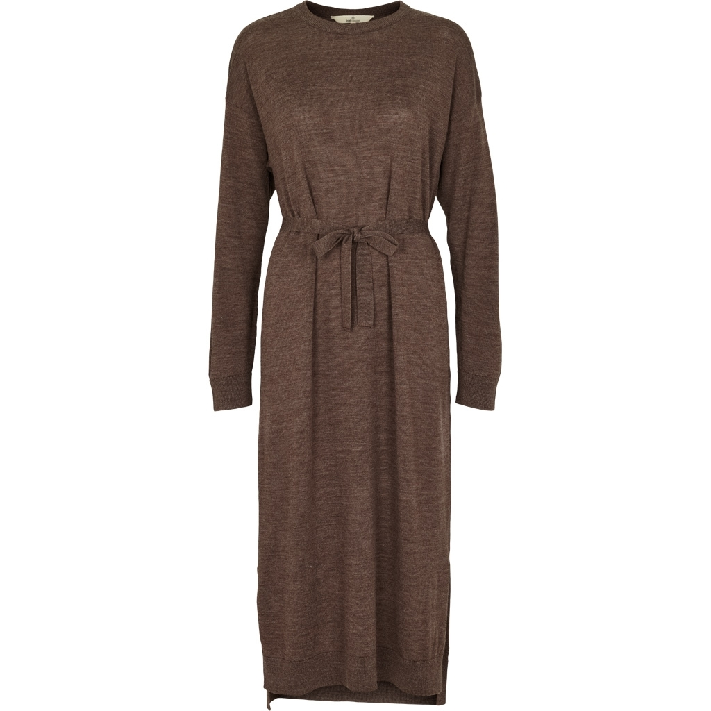 Basic Apparel Vera Dress Brown Mel