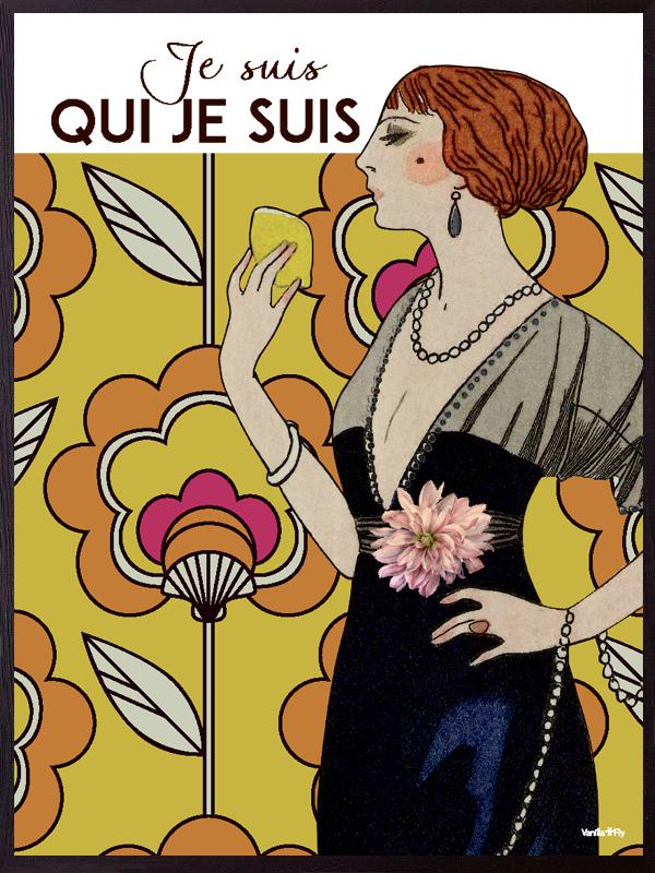 Vanilla Fly Plakat 70X100 Je Suis