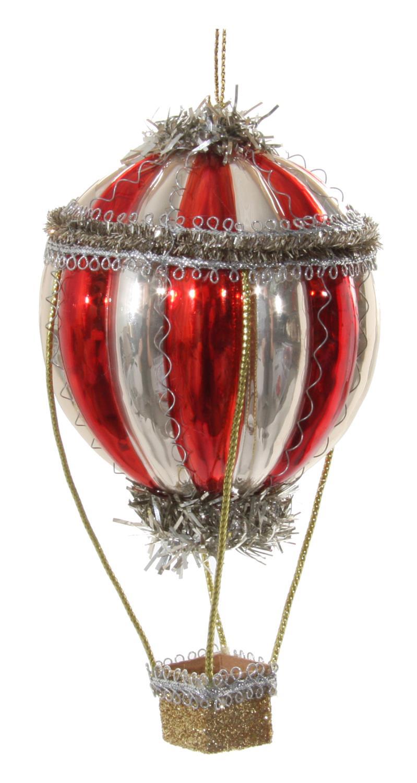 ShiShi Luftballong Glass Rød 14cm