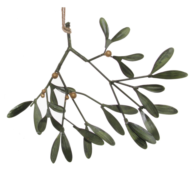 Shishi Mistletoe Grønn Metall 21cm