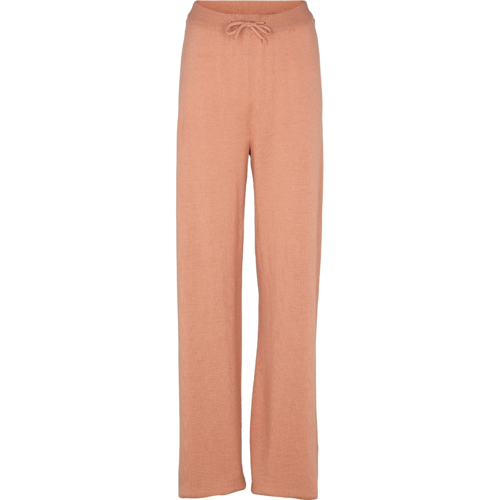 Basic Apparel Vera wide pants Muted Clay