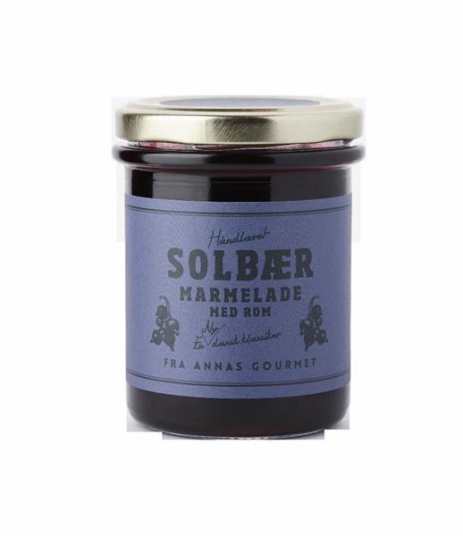 Lille Spesial Solbær Marmelade m Rom Annas Gourmet