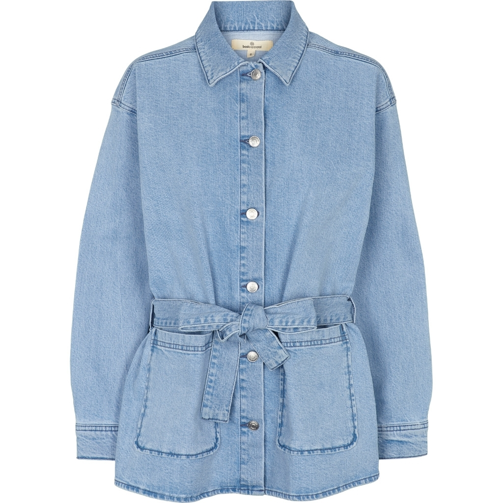 Basic Apperal Ellen Jacket Light Wash