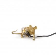 Seletti Muselampe Liggende Gull