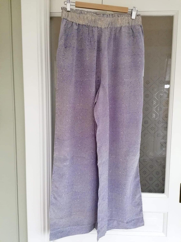 Sissel Edelbo Calcutta Silk Pants Lavendel S/M