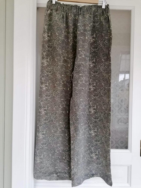 Sissel Edelbo Calcutta Silk Pants Sage S/M