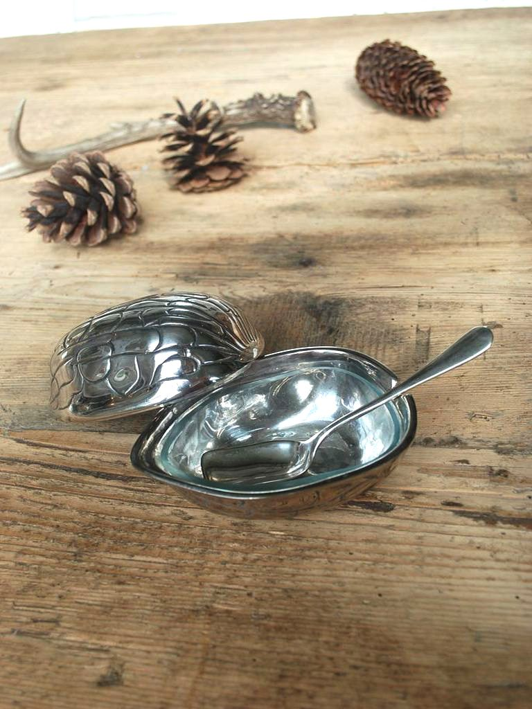 Chehoma Syltetøyskål Sølv