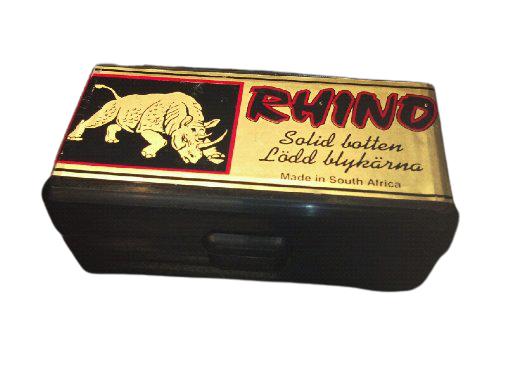 Rhino 200 grains Solid Shank 8 mm (.318), 25 pk.