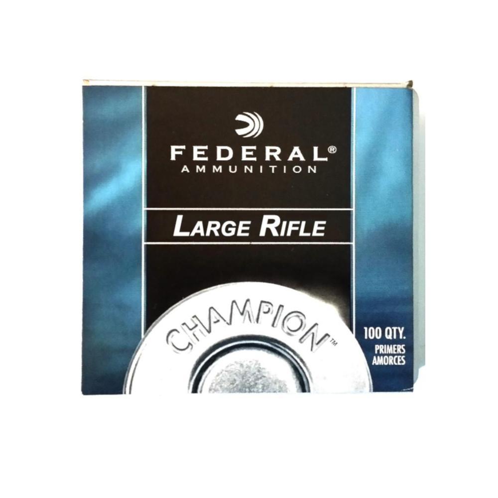 Federal Large Rifle # 210 tennhetter, 100 pakning