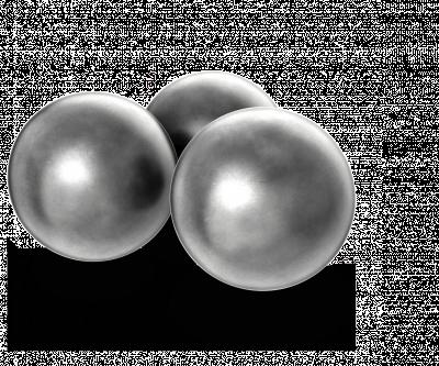 H & N Rundkule .375 kal. (9,53 mm), 200 pk.