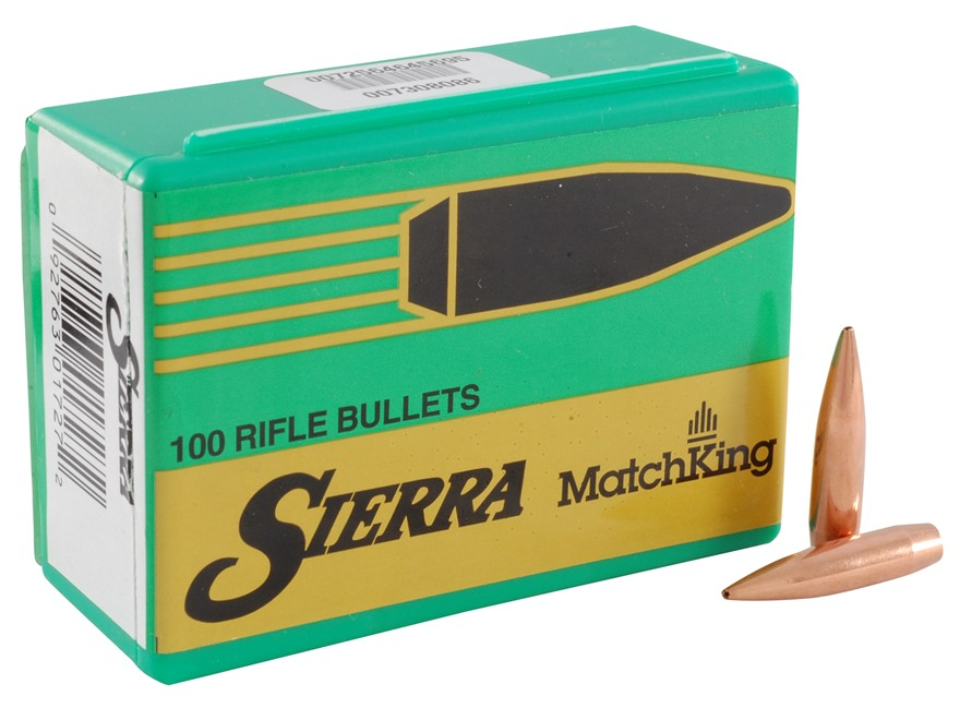 Sierra 123 grains Match King HPBT 6,5 mm (.264), 100 pk.