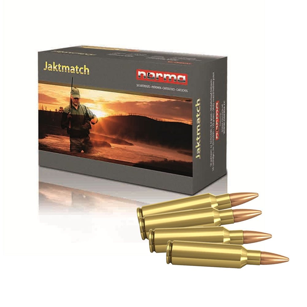 Norma 222 Remington 3,6g / 55gr FMJ Jaktmatch