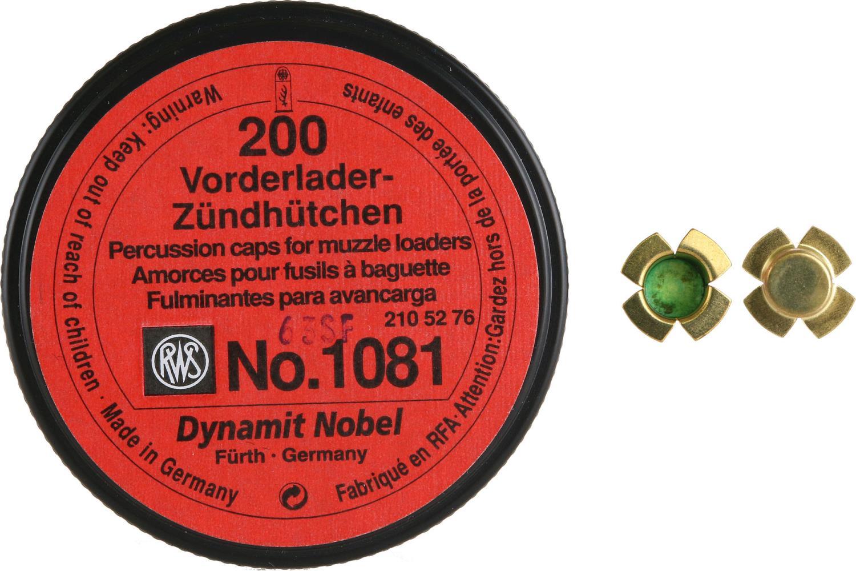 RWS Perkusjonstennhetter # 1081