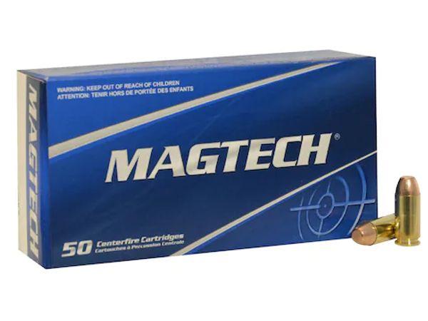 MagTech 40 S&W 180gr FMJ Flat Point