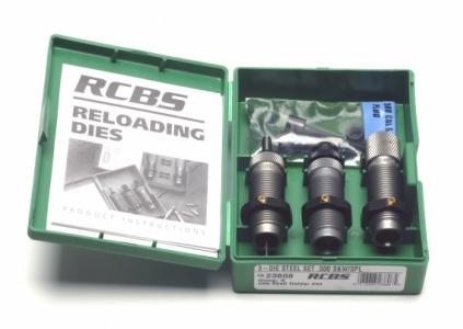 RCBS .32 S & W Long 3-die sett m/roller crimp