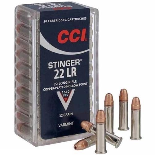 CCI Stinger 22LR HP 32gr