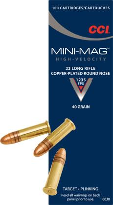 CCI Mini-Mag 22LR Solid 40gr