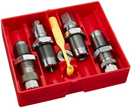 Lee 9 x 19 mm Luger 4-die sett Deluxe, karbid