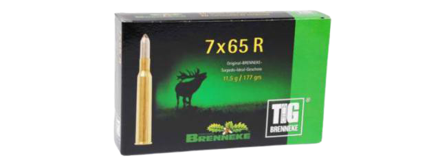 Brenneke 7x65R 11,5g/177 grains TIG