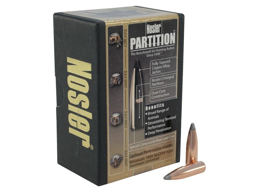 Nosler 140 grains Partition SP 7 mm (.284), 50 pk.