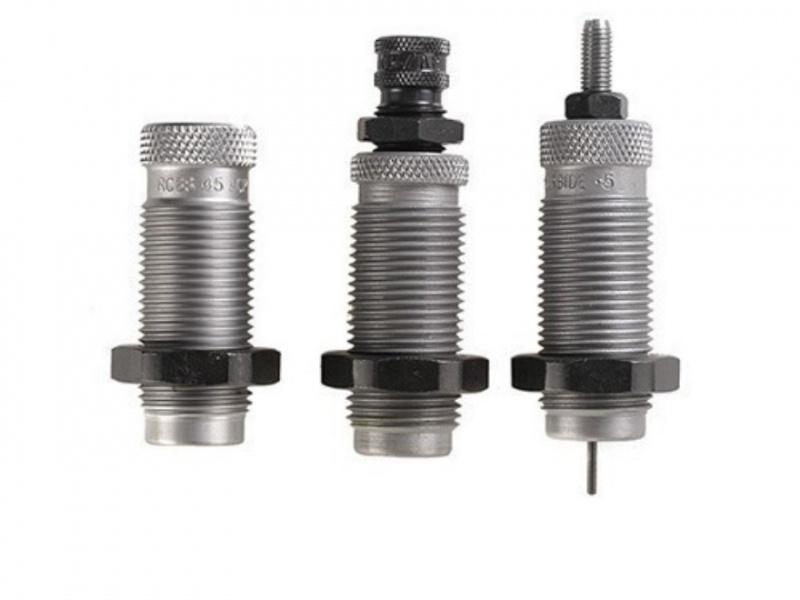 RCBS 9 x 19 mm Luger 3-die sett, karbid