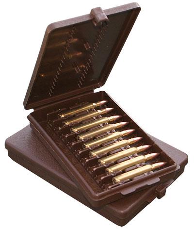 MTM Ammoboks 9 patroner kaliber .22 - 250 Remington - 375 Magnum