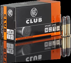 RWS 22LR Club 40 grains/2,6g