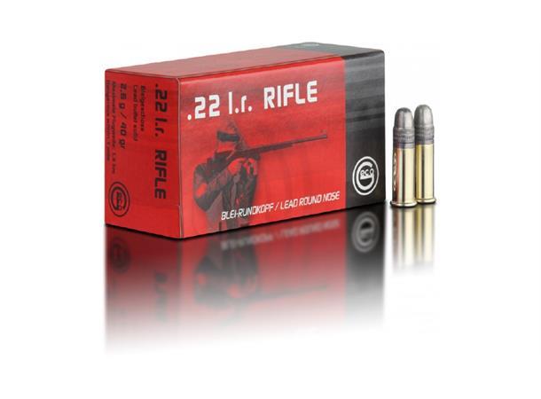 GECO 22 LR Rifle 40gr / 2.6g
